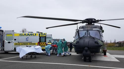 Patients évacués en Airbus, rotations d'hélicoptères vers l'Allemagne, navires déroutés: le point sur l'opération Résilience