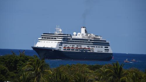 """Coronavirus : en errance avec plusieurs morts à bord, le paquebot """"Zaandam"""" accoste en Floride"""
