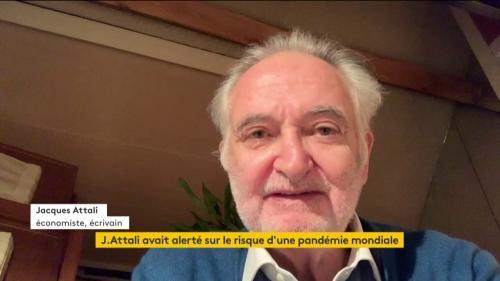 """Coronavirus :""""Commencer à parler du déconfinementest une plaisanterie du 1er avril"""" pour Attali"""