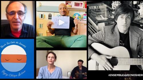 Coronavirus : Soprano, Jane Birkin, Thomas Dutronc... retrouvez en vidéo les émouvantes chansons hommage aux personnels soignants