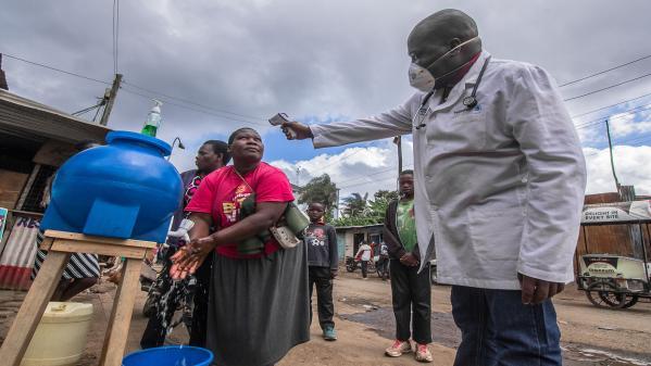 Kenya : Donwilson Odhiambo photographie Nairobi à l'heure du Coronavirus