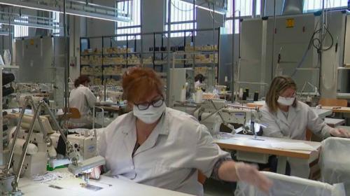 Coronavirus :en Italie, les entreprises du luxe contribuent à la lutte contre levirus