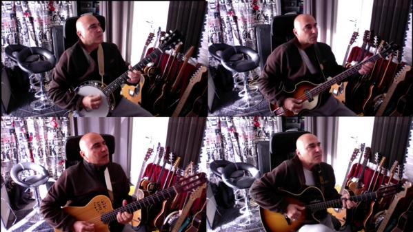 Confiné à Saint-Laurent-du-Var, le guitariste Éric Sempé revisite «Libertango» d'Astor Piazzolla