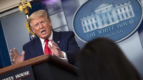 Etats-Unis : les autorités recommandent le port du masque, même artisanal, mais Donald Trump ne veut pas en porter