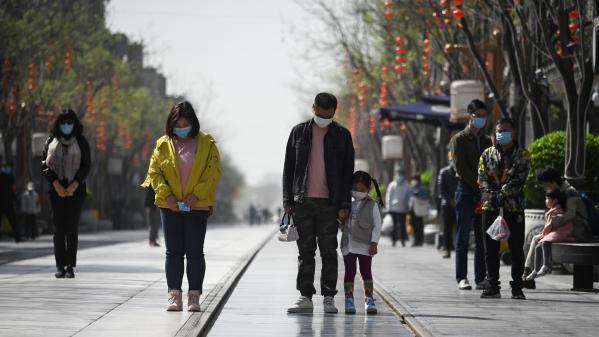 EN IMAGES. La Chine s'est figée quelques minutes pour rendre hommage à ses morts du coronavirus