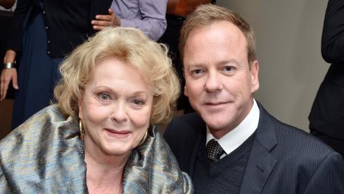 Canada: l'acteur Kiefer Sutherland annonce la mort de sa mère, l'actrice et militante Shirley Douglas