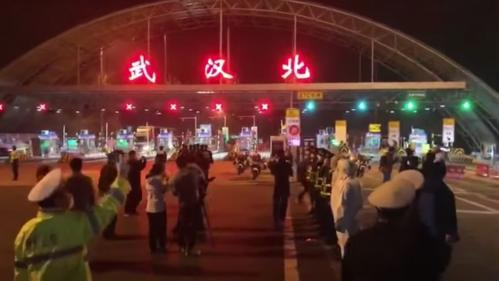 VIDEO. Coronavirus : en Chine, la fin des barrages routiers à Wuhan, après 76jours de quarantaine