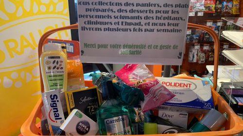 Nice : un commerçant niçois organise une collecte de produits de toilette pour les malades hospitalisés et les Ehpad