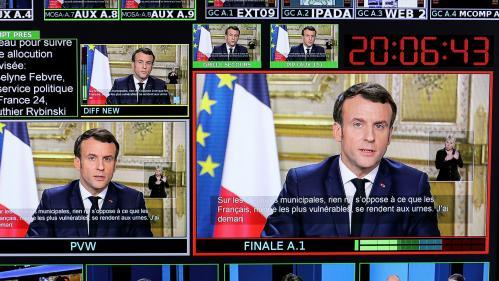 Coronavirus : Emmanuel Macron s'adressera aux Français lundi soir