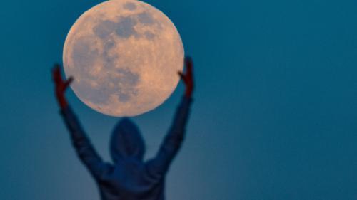 """EN IMAGES. Changez-vous les idées avec ces photos de la """"super Lune"""" observée cette nuit"""