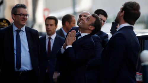 Coronavirus : Emmanuel Macron n'a