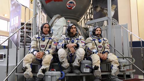 DIRECT. Regardez le décollage de la fusée Soyouz qui va rejoindre la Station spatiale internationale avec trois hommes à bord
