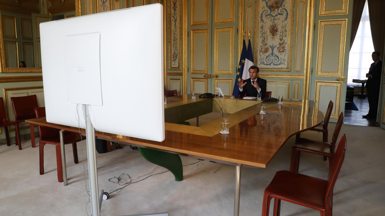 DIRECT. Coronavirus : en vue de son discours de lundi, Macron consulte ses alliés européens et les partenaires sociaux