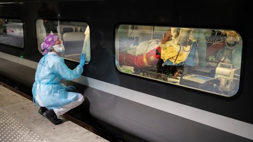 DIRECT. Coronavirus : deux TGV médicalisés vont transférer des patients franciliens vers Bordeaux et Angoulême