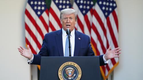 """Coronavirus : Donald Trump estime que les Etats-Unis ont passé le """"pic"""" des contaminations"""