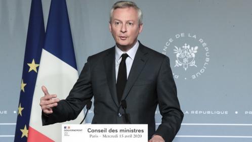"""DIRECT. Coronavirus : Bruno Le Maire souhaite que """"tous les commerces puissent rouvrir le 11 mai"""", exceptés les cafés, bars et restaurants"""