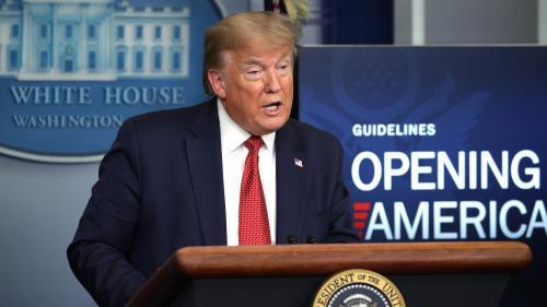 Etats-Unis : Donald Trump présente un plan de levée des restrictions en trois étapes, mais laisse la main libre aux Etats