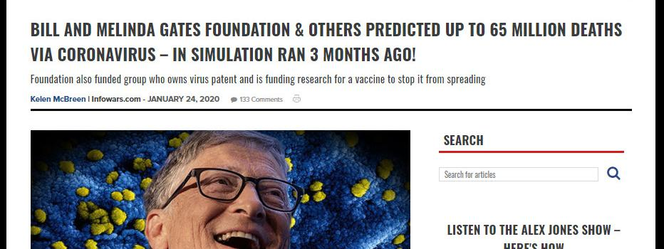 Bill Gates à deux pas de la prison ! Accusé de crimes contre l'humanité ! 21380999