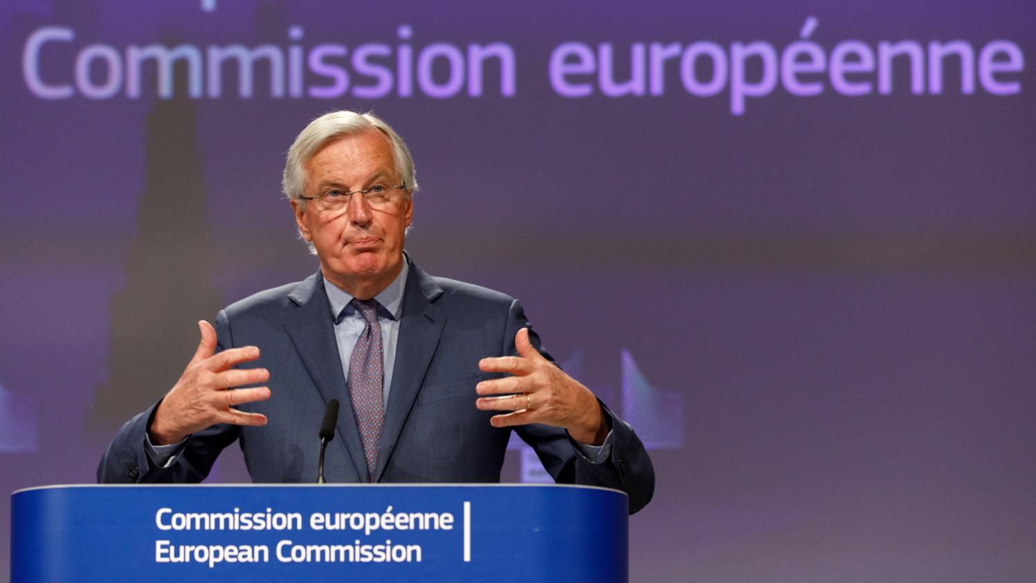 """Brexit : le Royaume-Uni refuse de """"s'engager sérieusement"""", s'agace Michel Barnier"""