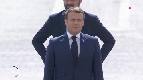 En plein confinement, la France commémore le 8-Mai 1945 : revivez la cérémonie présidée par Emmanuel Macron