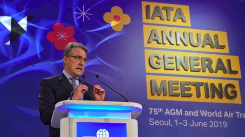 Déconfinement: l'Association internationale du transport aérien souhaite que les vols reprennent en juin pour la France, en juillet pour l'Europe
