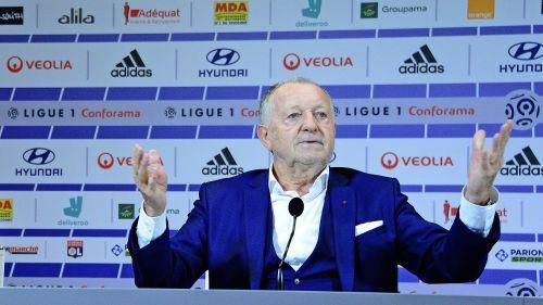 Ligue 1: le président de l'Olympique Lyonnais Jean-Michel Aulas écrit encore aux parlementaires