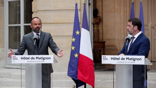 VIDEO. Municipales : voici l'intégralité de l'allocution d'Edouard Philippe et de Christophe Castaner sur l'organisation du second tour