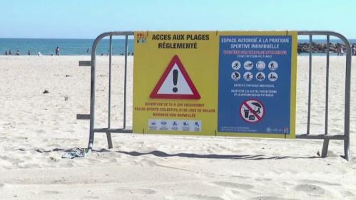 Pont de l'Ascension : les maires font respecter les règles sanitaires sur les plages