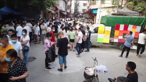 Chine : le textile sinistré à Canton