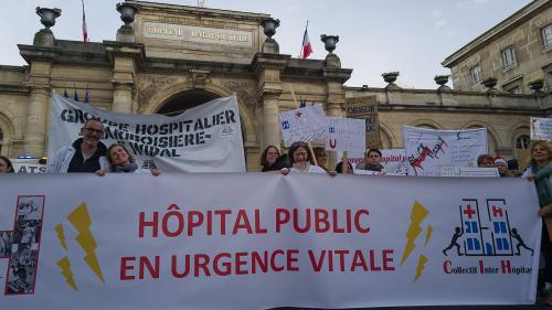 """Plan de santé gouvernemental: pour le collectif Inter-urgences, il faut traiter """"la revalorisation salariale"""" mais """"ne pas occulter le reste des dysfonctionnements"""""""