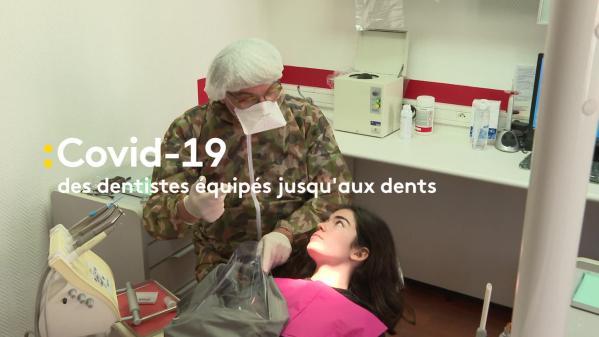 Vidéo. Un sac de protection pour limiter les risques de contamination des dentistes