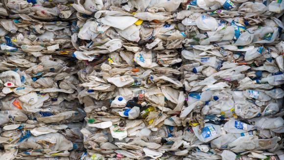 Un conteneur rempli de déchets plastiques australiens arrivé en Malaisie,cle 28 mai 2019. (photo d\'illustration)