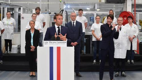 Aides à l'achat, primes à la conversion, discussions avec Renault... Ce qu'il faut retenir du plan de huit milliards d'euros pour la filière automobile