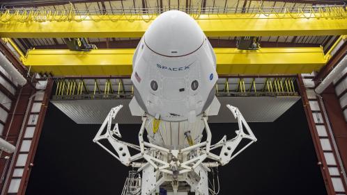 Space X : Amerrissage parfait au large de la Floride