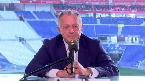 """VIDEO. Arrêt du championnat de football : """"Ceci va nous amener vers une catastrophe économique"""", estime le président de l'Olympique lyonnais Jean-Michel Aulas"""