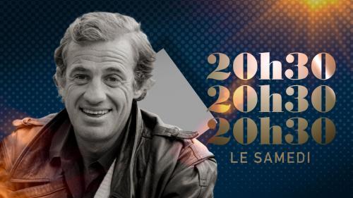 """20h30 le samedi"". Jean-Paul Belmondo"