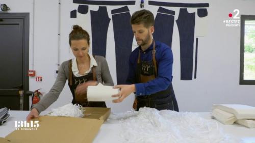 VIDEO. Coronavirus : le plus ancien fabricant de jeans français a réussi à produire très vite 85 000 masques grâce à ses fournisseurs présents dans l'Hexagone