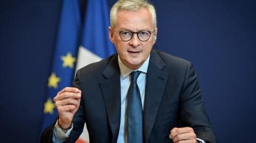 """VIDEO. Renault : """"Les projets d'extension au Maroc, en Roumanie et en Russie n'auront pas lieu"""", assure Bruno Le Maire"""