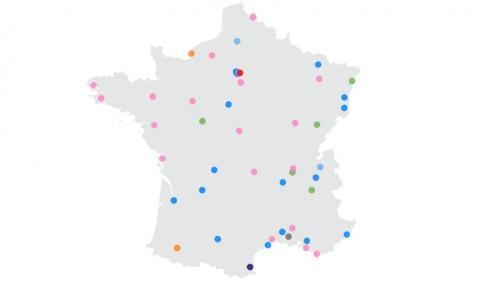 CARTE. Municipales 2020 : les 50 villes à suivre au second tour