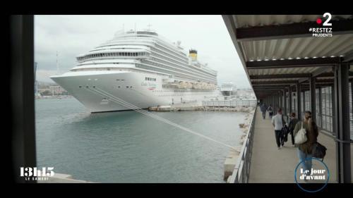 VIDEO. Marseille. Un navire de croisière émet autant d'oxydes de soufre qu'un million de voitures quand il est à quai