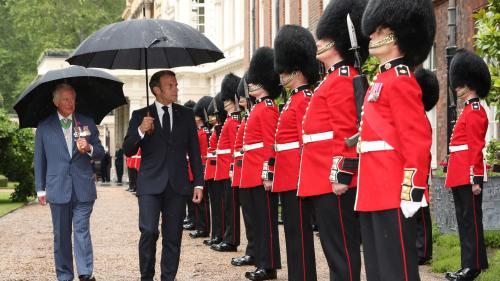 """DIRECT. """"De Gaulle devint la voix et le souffle de la France libre""""... Emmanuel Macron rend hommage au Général à Londres, regardez les cérémonies"""