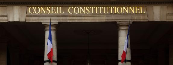 Le Conseil constitutionnel, le 4 juin 2020 à Paris.