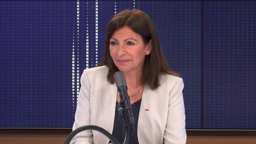 """VIDEO. Paris : transformation du périphérique """"en boulevard urbain avec une première échéance avant les Jeux olympiques de 2024"""", assure Anne Hidalgo"""