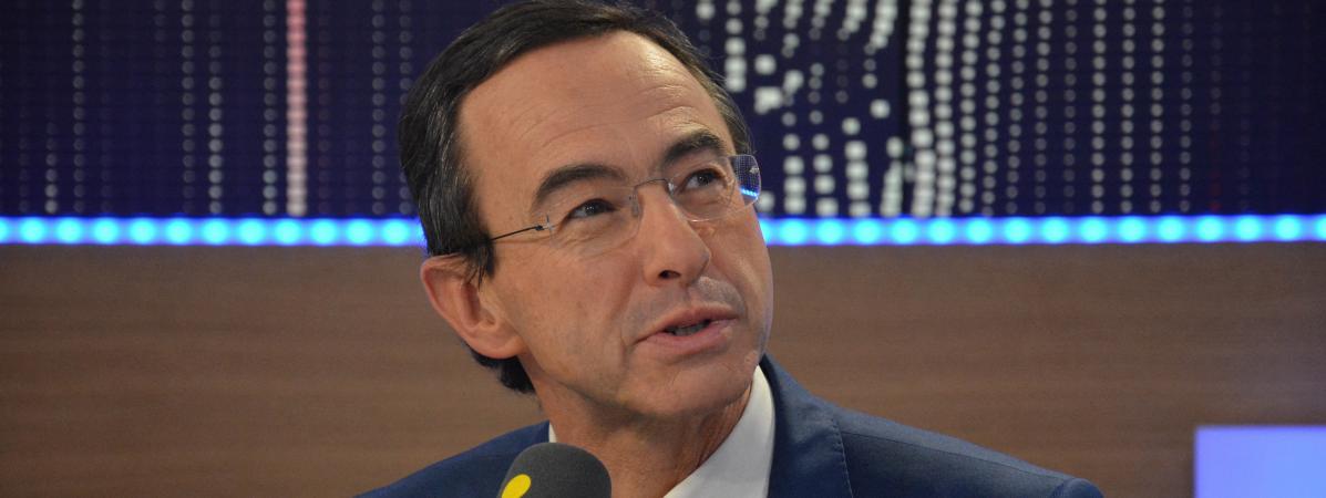 Bruno Retailleau, président du groupe Les Républicains au Sénat