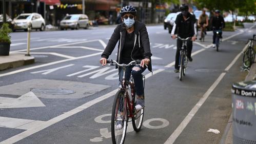 VIDEO. Rome, Berlin, Bruxelles, Moscou... Comment le coronavirus a-t-il eu un impact sur la pratique du vélo dans les grandes agglomérations à l'étranger ?