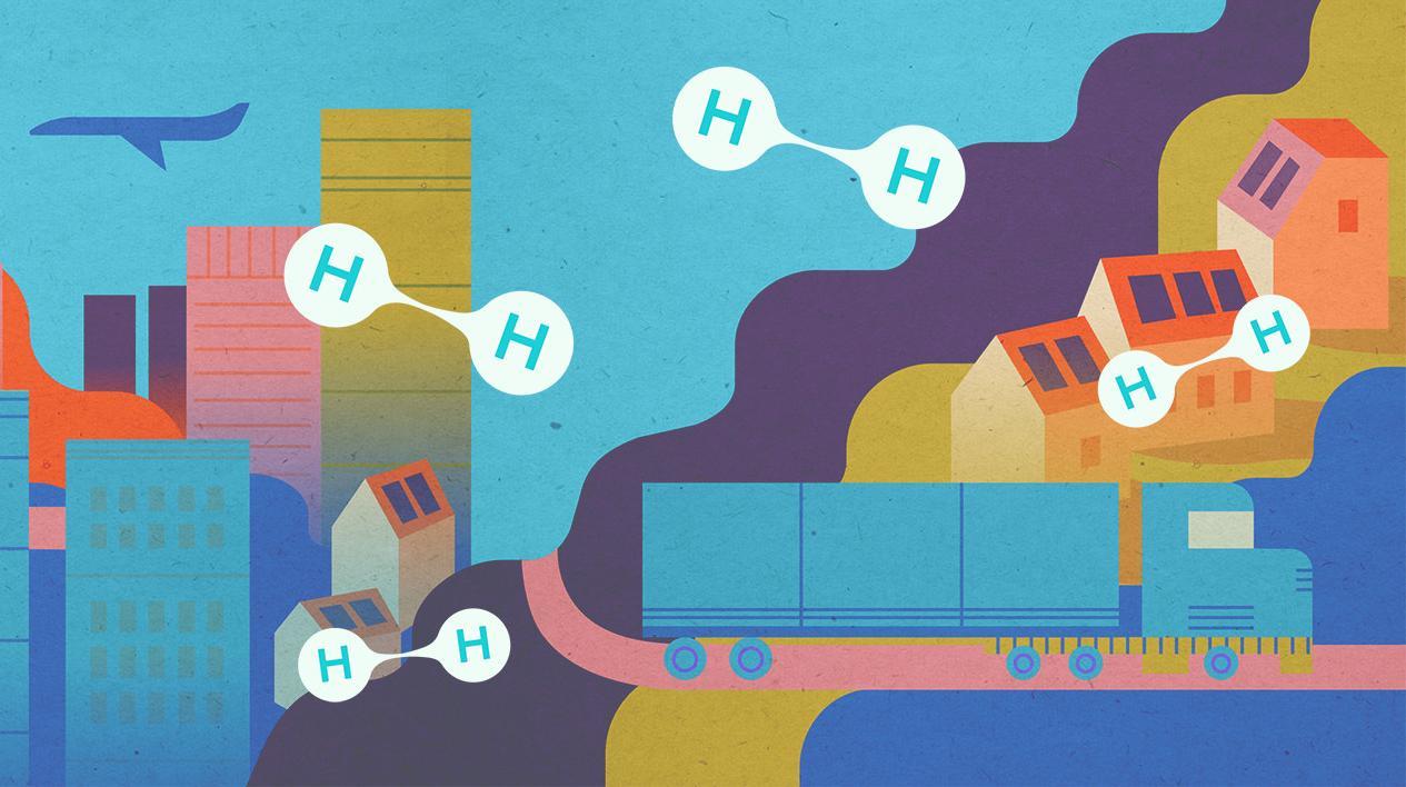 Transition énergétique : le futur va-t-il carburer à l'hydrogène ?