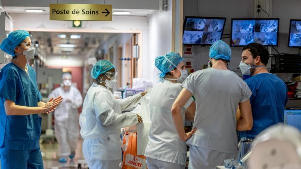 Coronavirus : le nombre de personnes hospitalisées en France continue de baisser, avec 17 patients en moins en réanimation en 24 heures