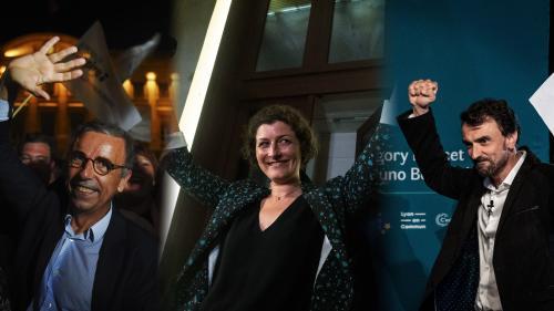 Résultats des municipales 2020 : Lyon, Bordeaux, Strasbourg... Une vague écologiste déferle sur les grandes villes