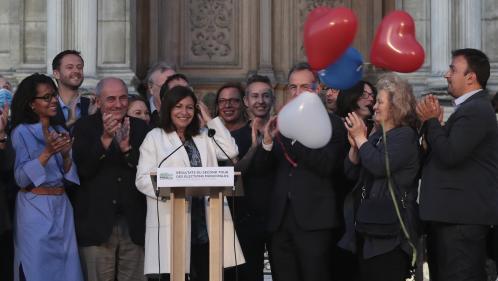 """Municipales 2020: """"C'est une satisfaction. C'est un soutien massif de la part des Parisiens pour le projet d'Anne Hidalgo"""", se félicite son adjoint Emmanuel Grégoire"""