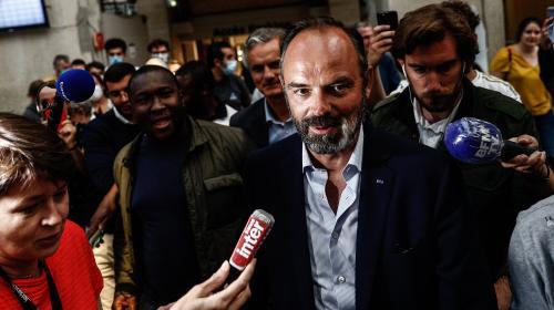 Image de couverture - Le Havre : retour triomphal d'Édouard Philippe